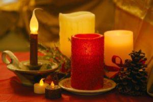 holiday LED candles